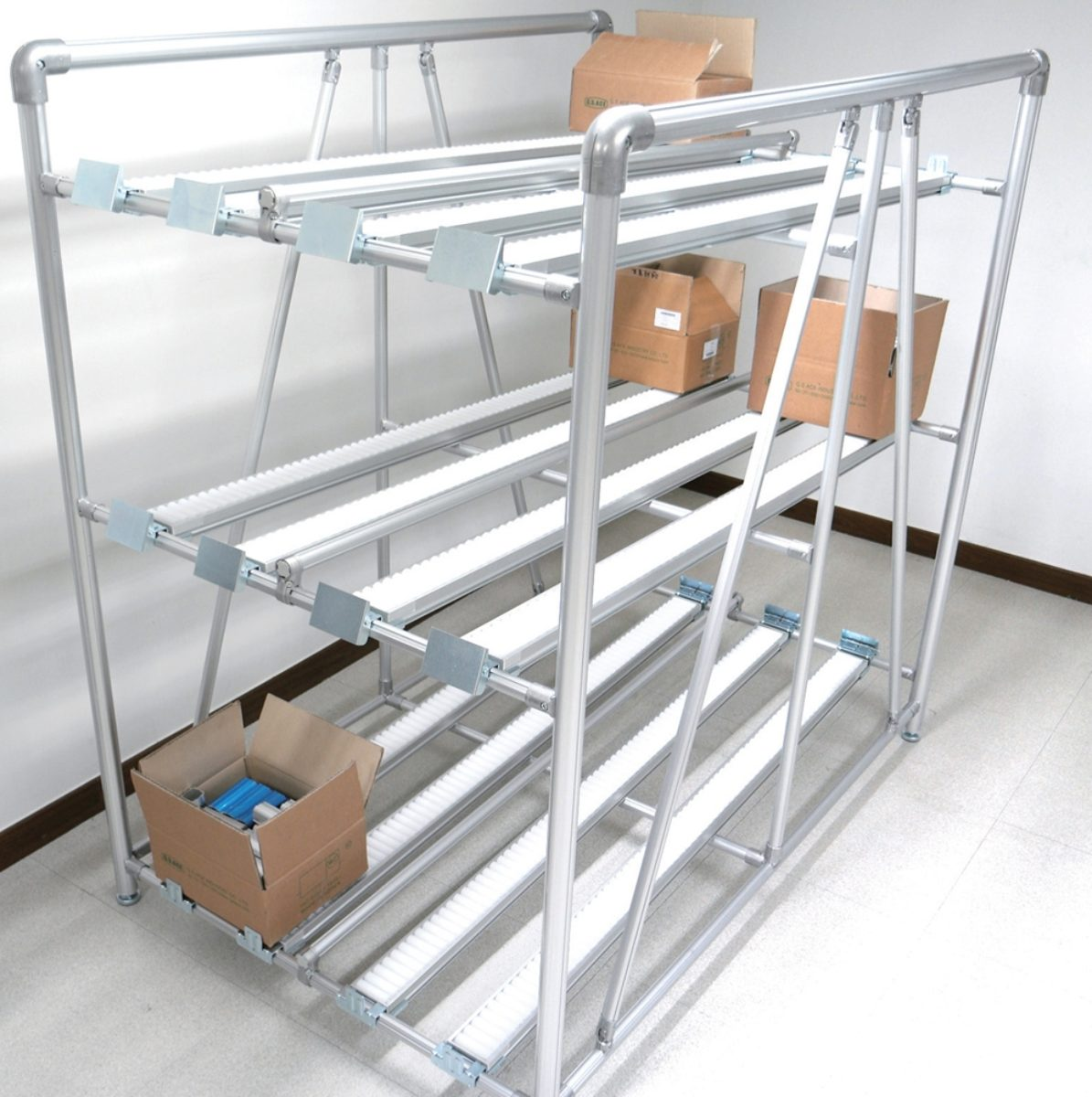 aluminium pipe racking solutions for industry